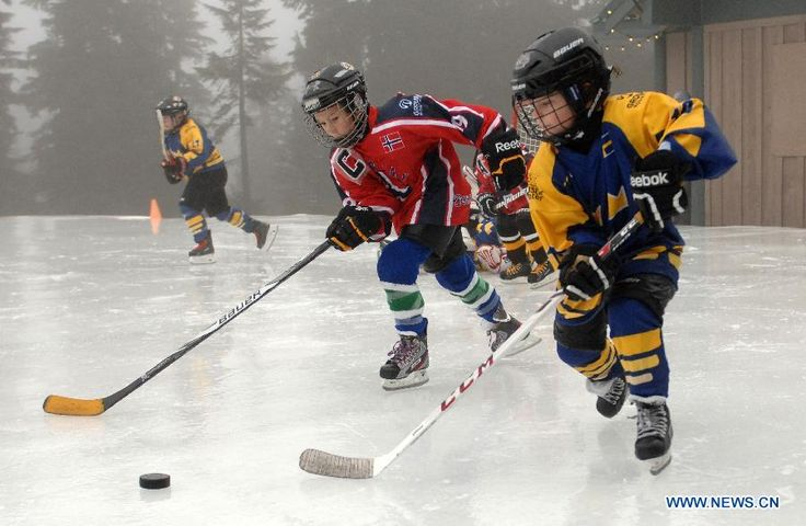 grouse mountain junior pond hockey - Google Search