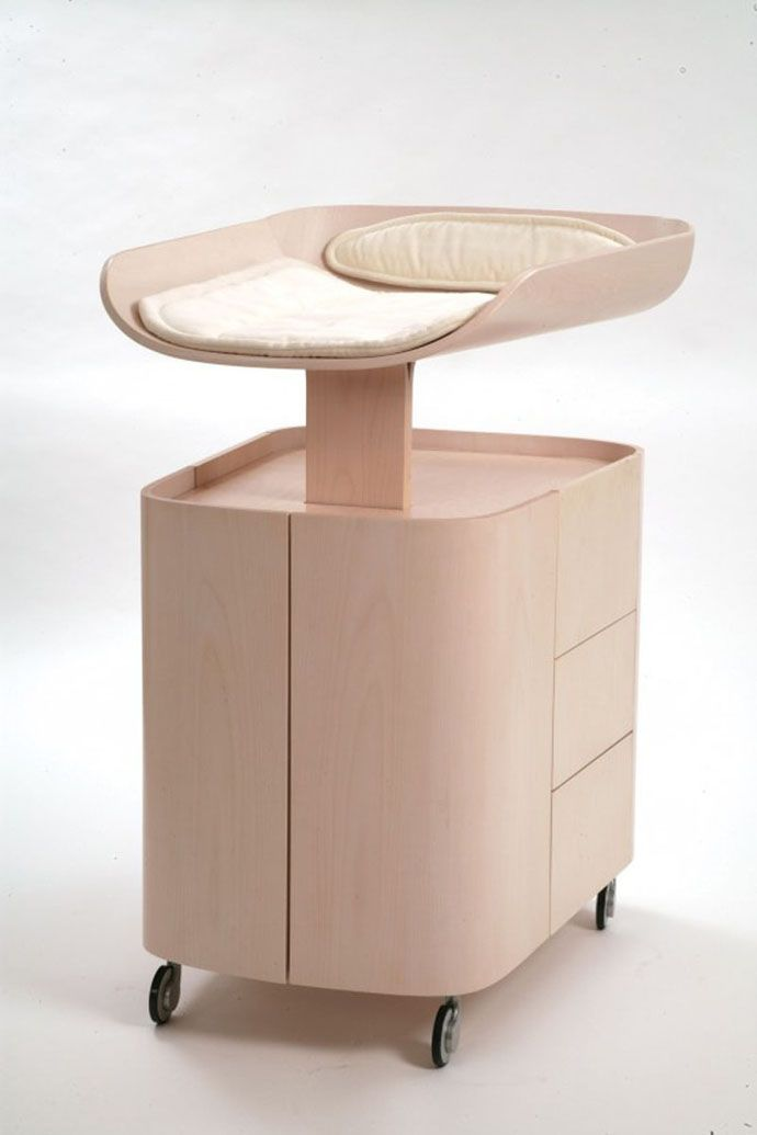folding changing baby table by bybo 2