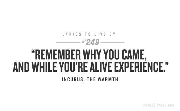 album lyrics incubus: