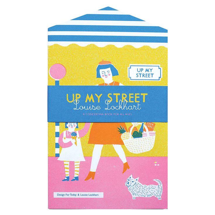 Up My Street Concertina Book