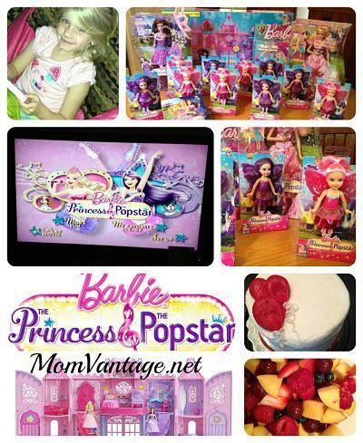 @Jessie M's Barbie party