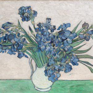 Vase Avec Iris Van Gogh