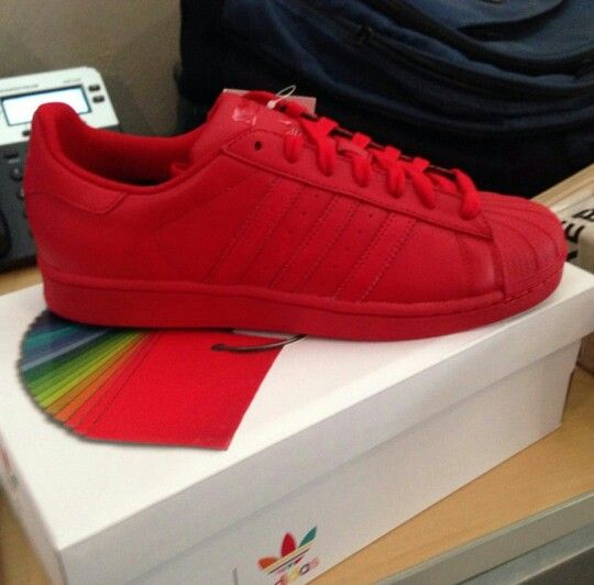 zapatos adidas rojos de mujer
