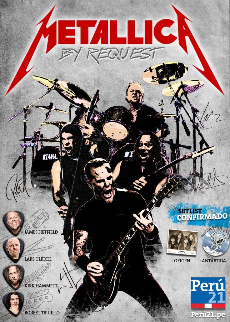 Metallica se presenta hoy en el Estadio Nacional #Peru21