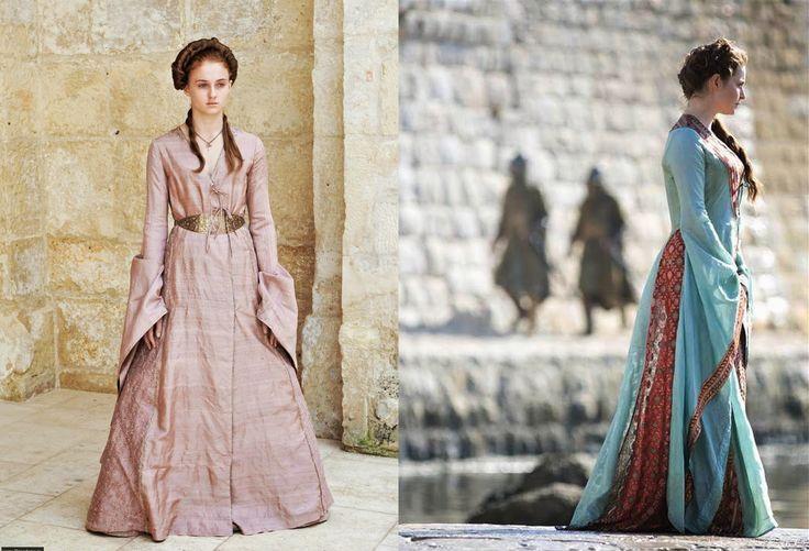 Sansa Stark gowns