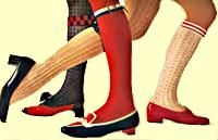 KNEE SOCKSPopular Colors, Fashion Shoes, Childhood Memories, Knee Highs Lik, Knee Socks, Kids Grew, High Heels, Chunky High, Highs Lik Totally