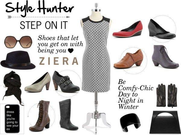 Style Hunter: #Winter Wonderland! #Ziera Comfort Shoes