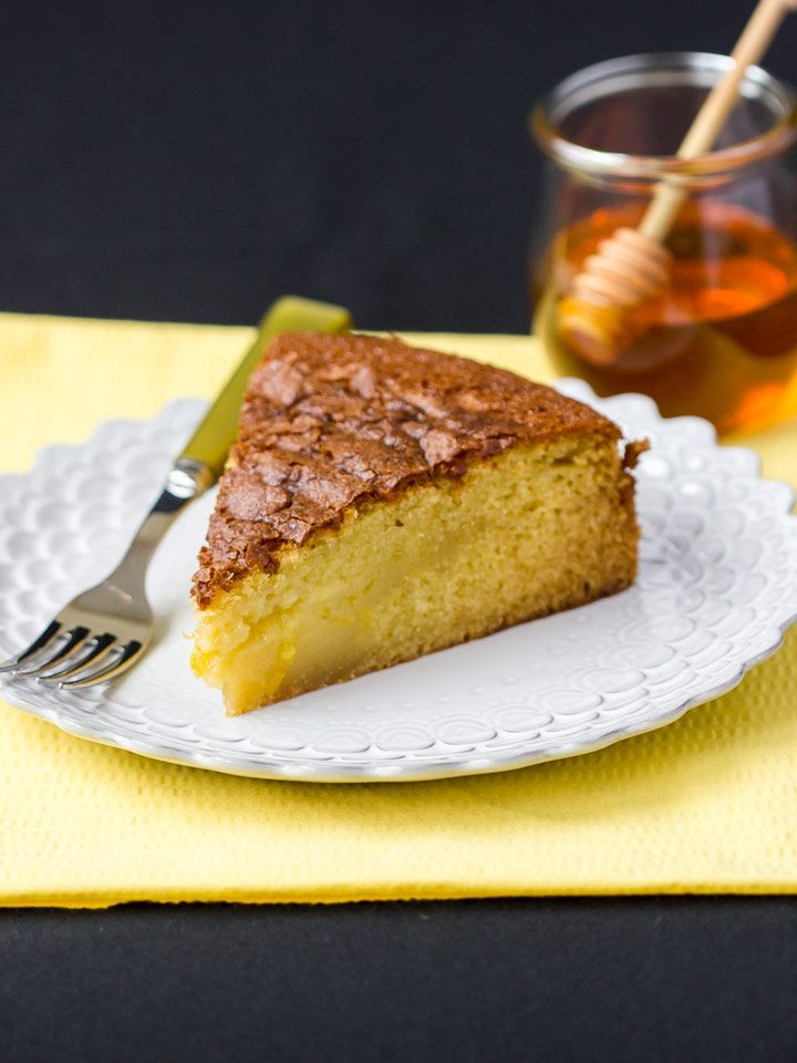 Rustic Olive Oil Cake With Honey Syrup Recipe — Dishmaps