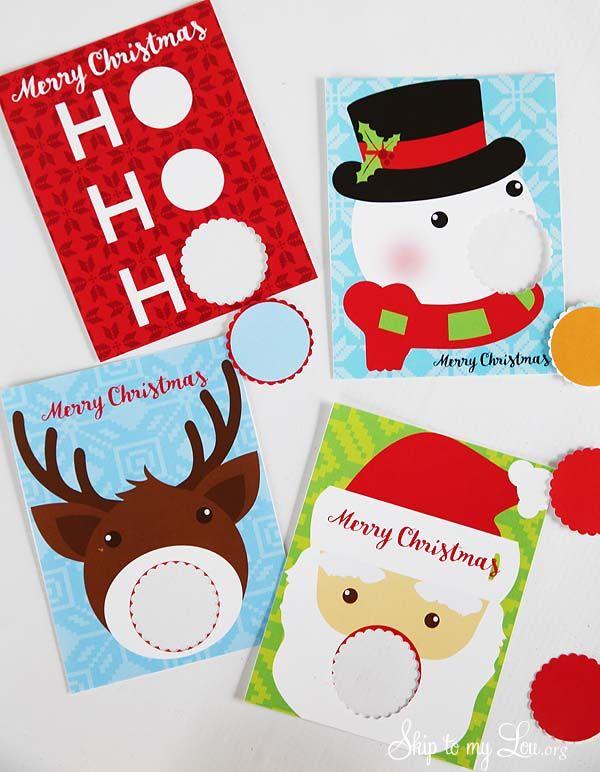 EOS lip balm printable Christmas gift