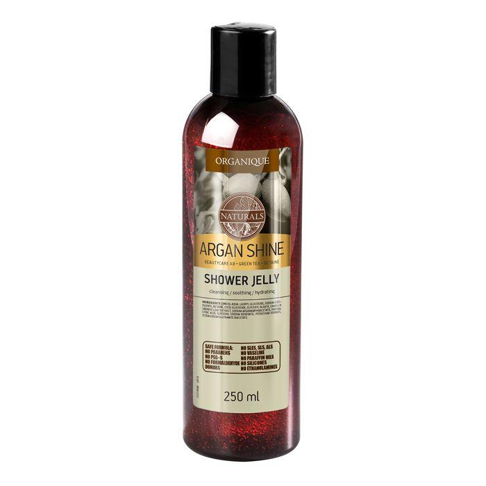 Żel pod prysznic dla skóry suchej i wrażliwej z olejem arganowym