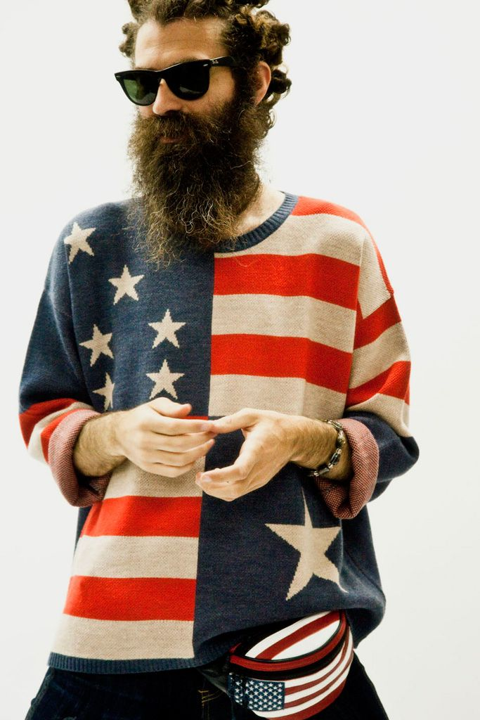 Hipster style (american patriot)