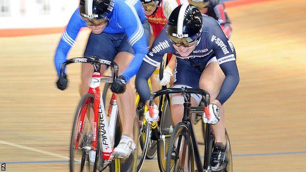 BBC Sport - Jess Varnish, Laura Trott and Jason Kenny win British titles
