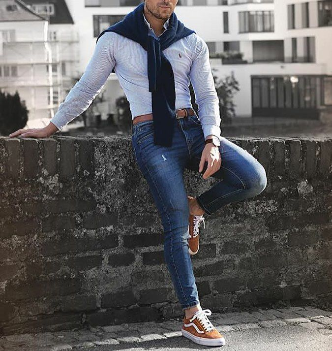 """106 Likes, 1 Comments - MenWithCasualStyle (@menwithcasualstyle) on Instagram: """"Yes or No? #menwithcasualstyle"""""""