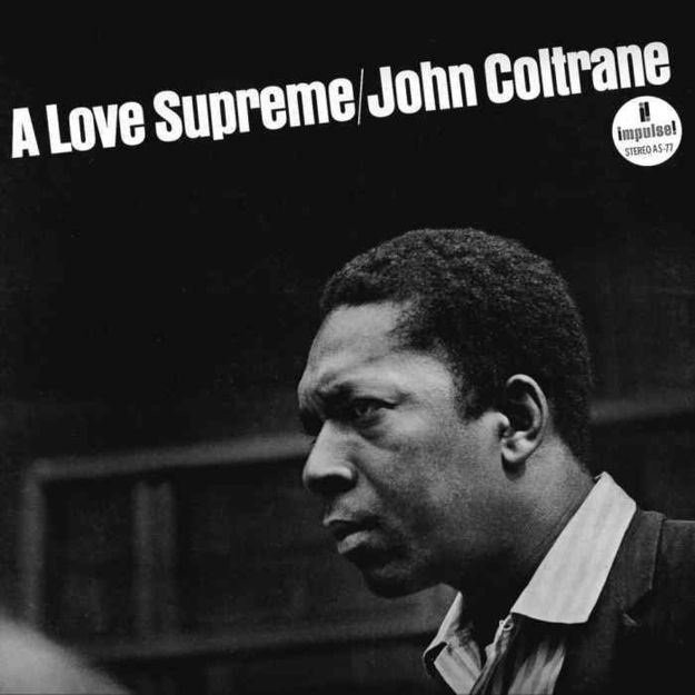 A Love Supreme by John Coltrane (1965)   Community Post: 42 Classic Black And White Album Covers