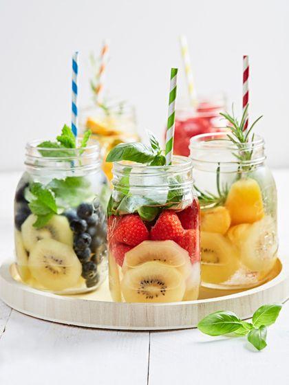 De lekkerste combinaties van water met fruit
