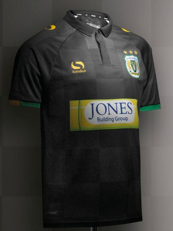 Black Yeovil Town Shirt 2017 2018