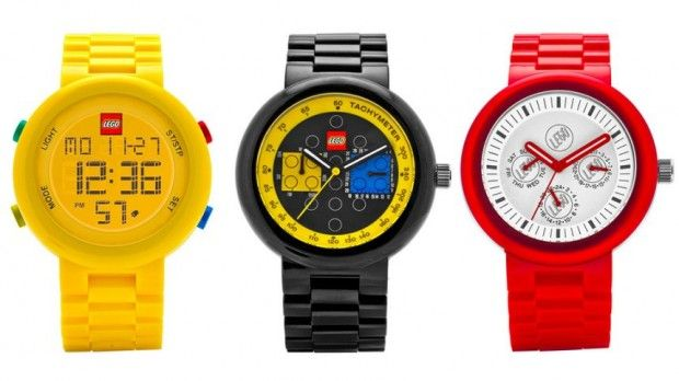LEGO toys aren't just for kids so it makes sense that LEGO watches wouldn't be just for kids either. The company has introduced a line of watches specifically for adults. The LEGO watch collection for men and women will be launched in November and be called the LEGO Watch System.