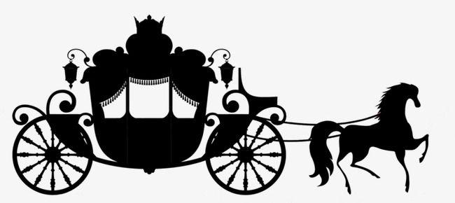 Carriage Silhouette Art Print Design Art Outline Designs