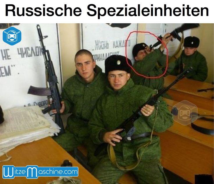 Russische Spezialeinheiten - Gewähr falsch herum - Funny Russian Fail