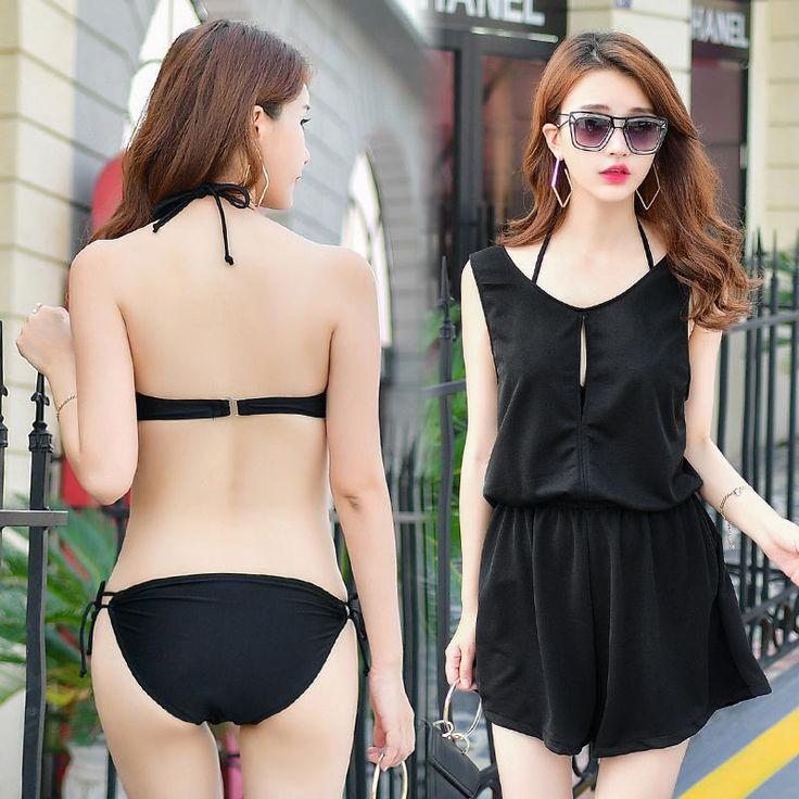 Bikini 2016 Push Up Bikinis Girls Swim Suit Cheap Lady Swimwear Shorts 2 Piece Tankini Top 2Pcs 2017 New Sexy Pants Badeanzug