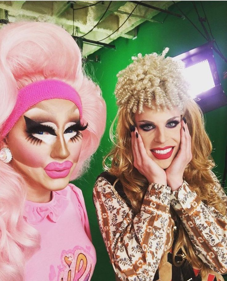 Image result for trixie mattel and katya