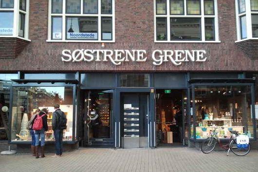 Søstrene Grene, Grote Markt 43-44, Groningen. Søstrene Grene, opgericht in 1973 in Denemarken. Maar nu verwelkomen de gezusters Grene, Anna & Clara, jou ook in hun winkel in Groningen