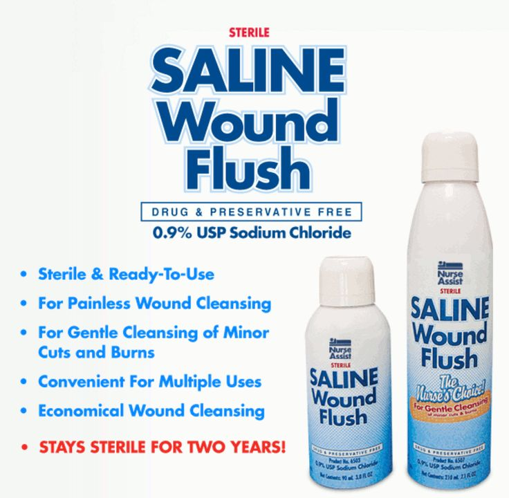 Nurse Assist Sterile Saline Wound Flush - 3 oz Spray Can $8158 - wound ostomy continence nurse sample resume