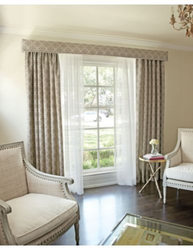 contemporary narrow pelmets and curtains - Google Search