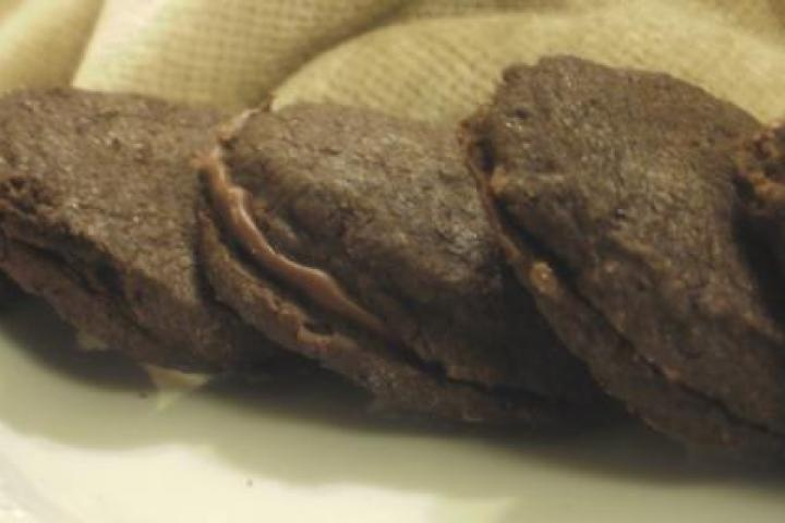 Mocha Shortbread with Nutella | Recipes - Something Sweet | Pinterest