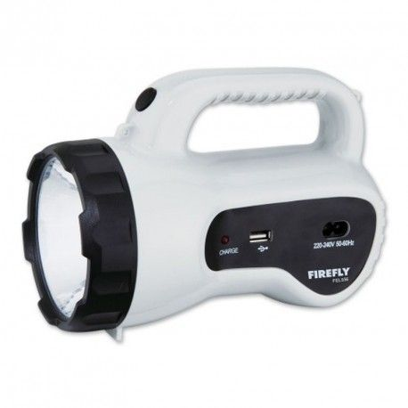 Firefly Powerful Torch Light With Usb Mobile Phone Charger