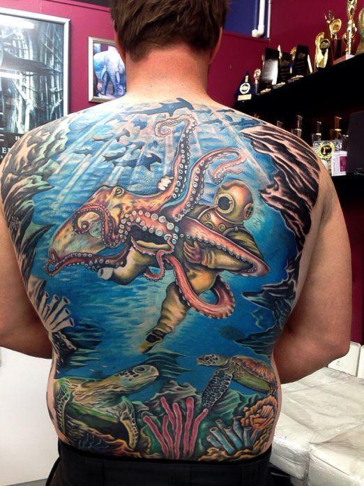 275 best Sea Life Tattoos images on Pinterest | Sea life ...