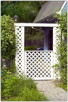 how to build a lattice gate