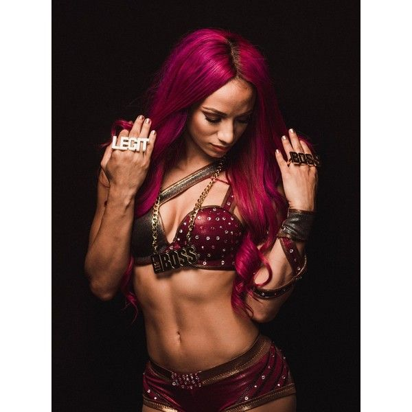 The Four Women Saving Wrestling ❤ liked on Polyvore featuring wwe