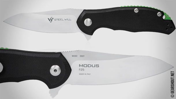 Steel Will Knives открыла приём заказов на серию складных карманных ножей Modus F25