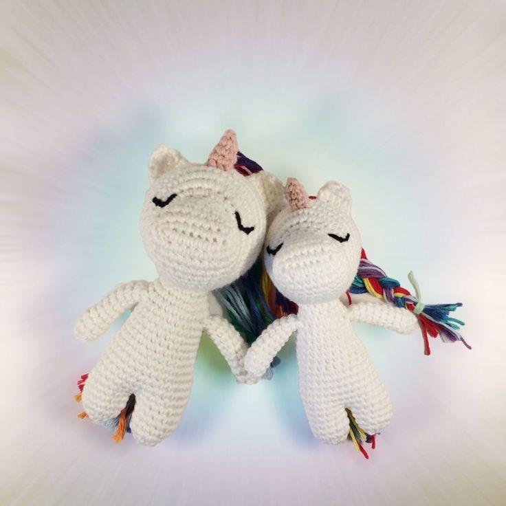 Zum flauschigen Einhorn | Häkelblog / Crochet Blog