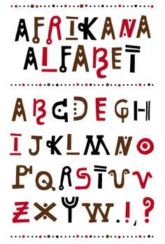 AFRICAN FONT - Buscar con Google