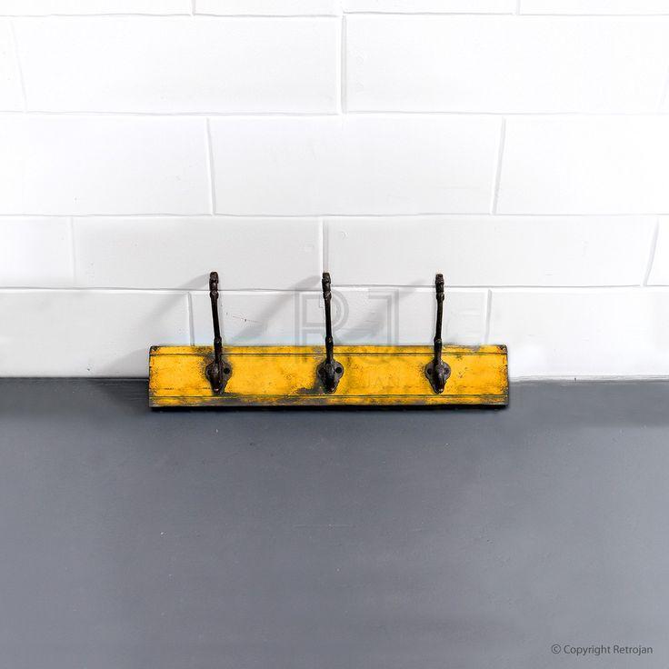 Jesse - 3 Hook - Rack (Yellow) | $39.00
