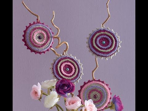 Uncinetto Fashion: DECORAZIONI POP - rifinire i dischi by CROCHETDOLL