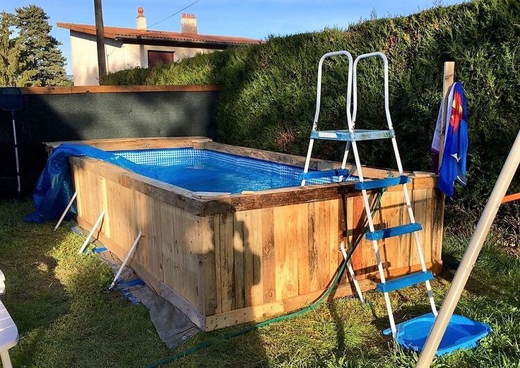 25 Best Ideas About Pallet Pool On Pinterest Diy Pool Diy Swimming Pool And Shipping Pallets