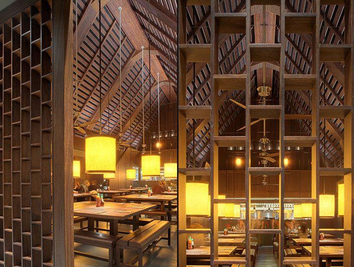 Busaba Eathai by David Archer Architects, Bicester restaurant