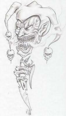 Palhaco Do Mal X Papel De Parede Wallpaper Tattoo Pelautscom