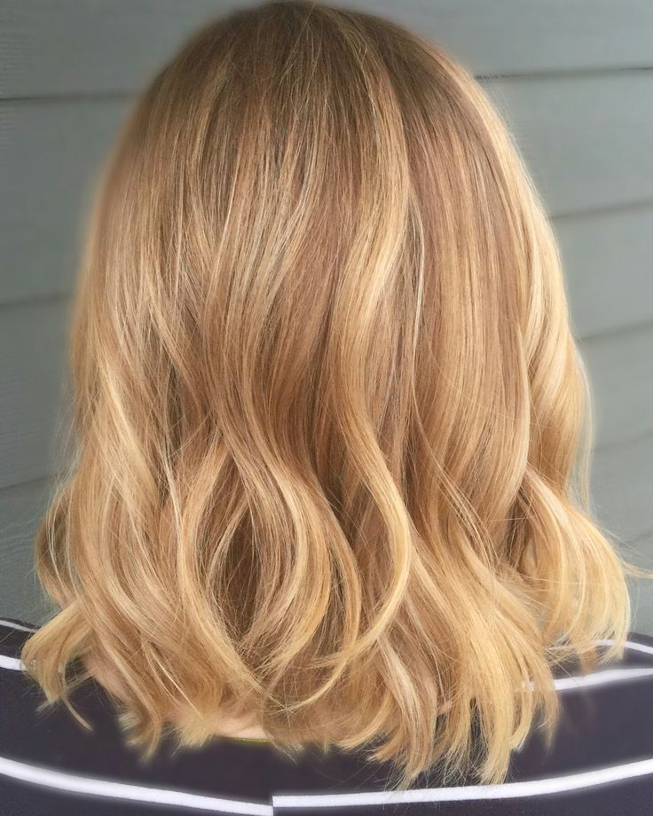 Blonde Balayage hairstyles hair color