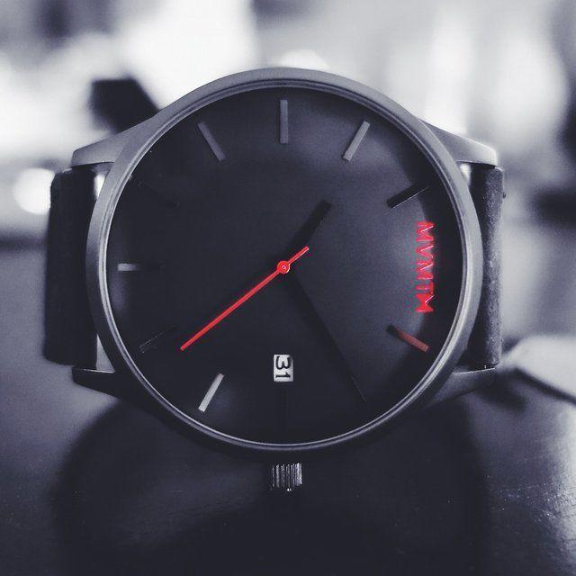 Fancy - Black on Black Watch by Mvmt