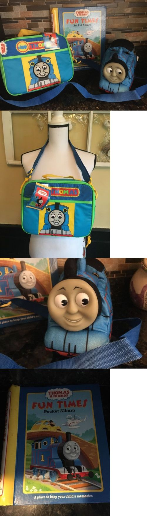 Lunch Boxes Dinnerware 146111: Nwt Lot Thomas The Tank Engine Train Train Storage Lunch Bag Memory Book Doll -> BUY IT NOW ONLY: $35 on eBay!