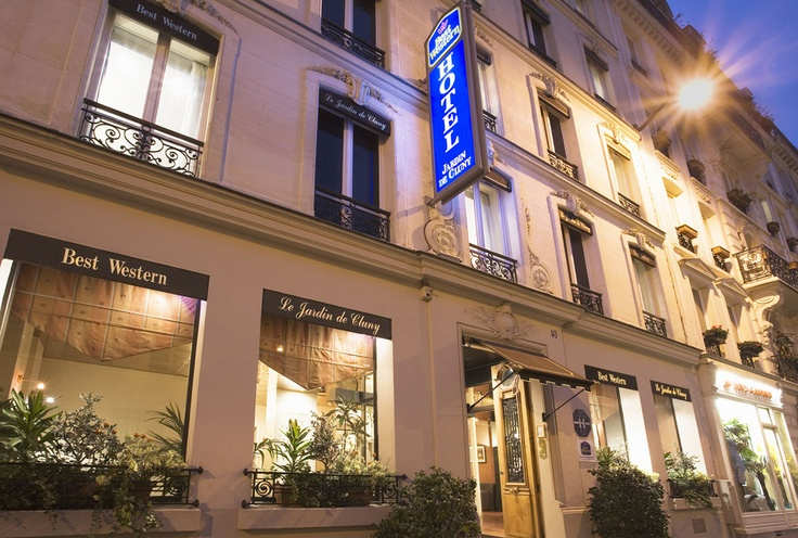 25 best hotels in the saint germain des pres quarter for Best western le jardin de cluny hotel paris