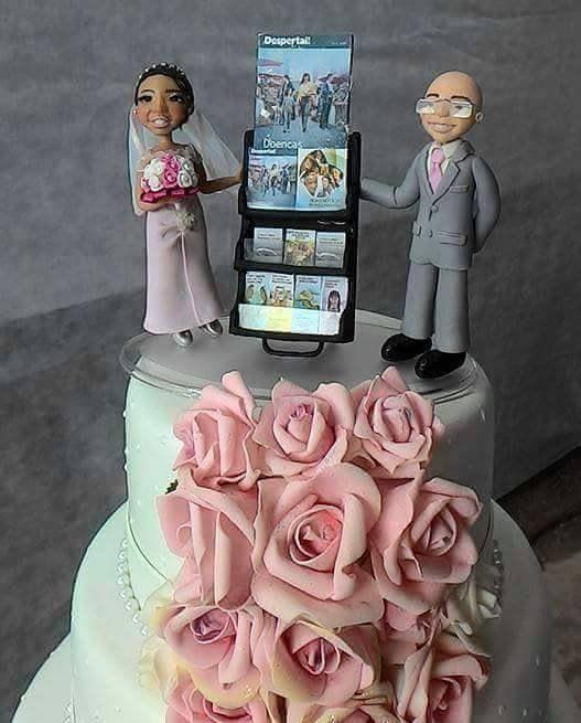 Me encanta ese pastel de boda