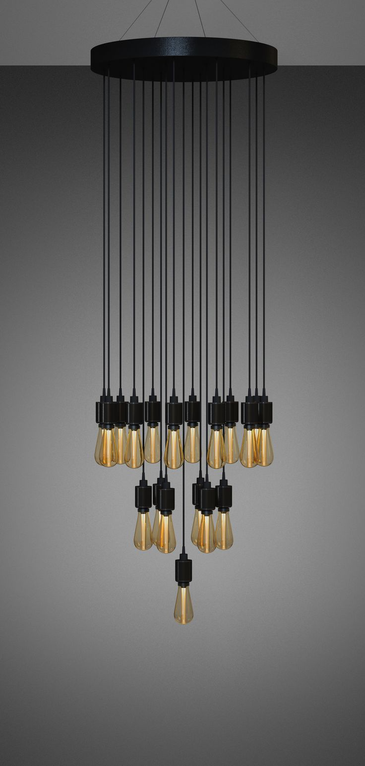 BESPOKE LED HEAVY METAL CHANDELIER / CLASSIC by Buster + Punch.