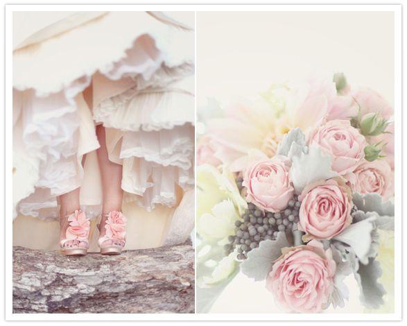 Real Weddings: Wedding Inspiration, Vintage Wedding, Pastel Wedding, Wedding Ideas, Weddings, Pink, Dream Wedding, Pastel Color, Flower