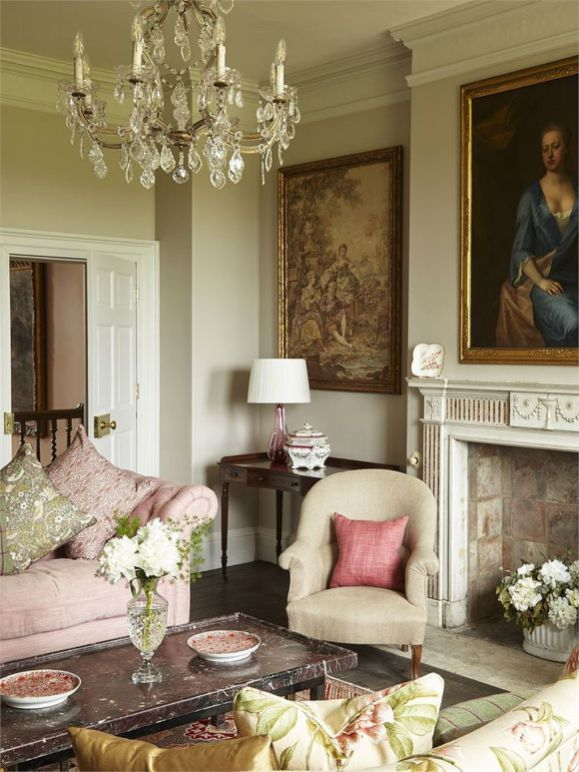 80 English Country Home Decor Ideas 55 Drawing Room