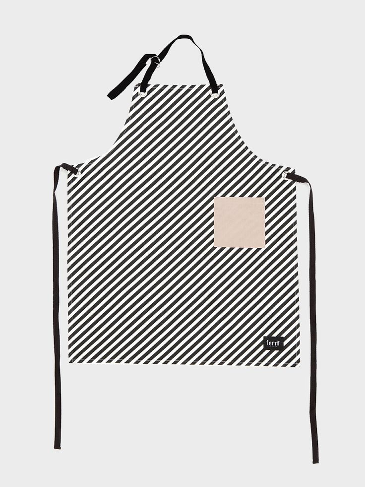 Graphic and colorful apron in 100% organic cotton - High quality Danish design - Stylish and modern look
